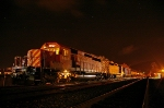 Propane Train in back track