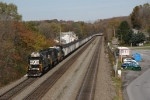 Westbound NS empty coal train
