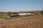 EV 707 leaving Martinsburg Junction on its return trip