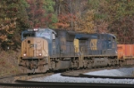 Slow Moving CSX 4727 And CSX 583