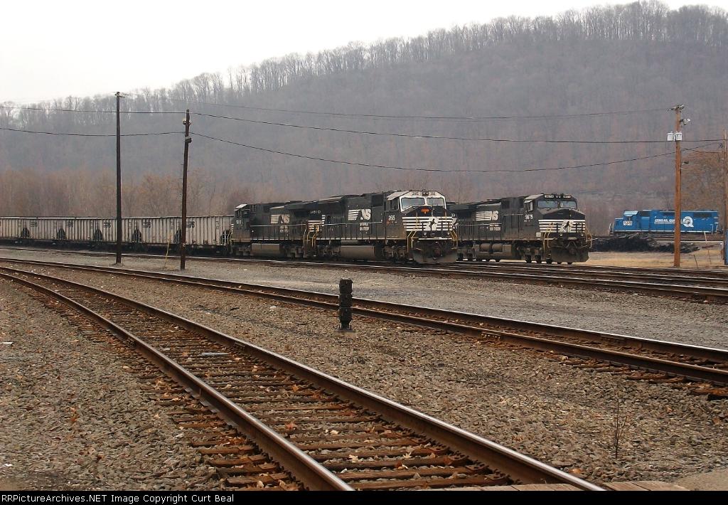 NS W. Brownsville Railyard