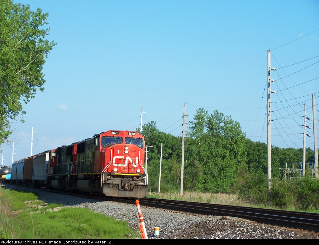 CN Railway Elsdon sub.