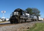 NS G07 rolls through downtown Monticello