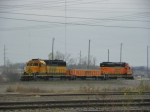 BNSF 6732, 270 and 1888