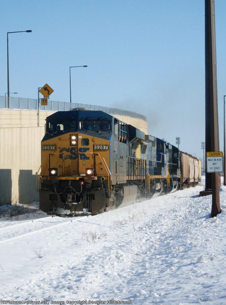 CSX Phosphate Train