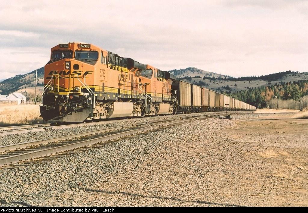 DPUs on eastbound coal train
