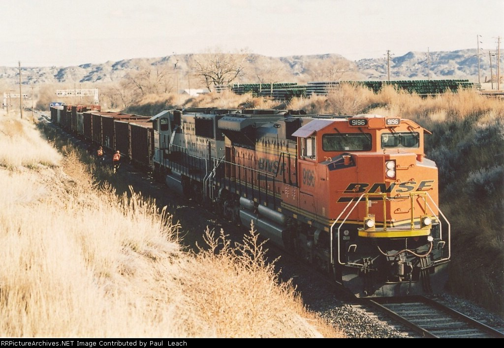 Nice ballast train power on branch