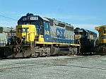 CSX 8426 and 8855