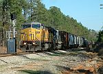 CSX SB Freight led by an ex-CNW C44-9W at MP 414.9