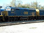 CSX 9993 is here for a special train