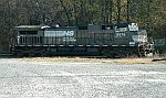 NS 9576 sits alone for a roster shot