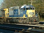 CSX 4613 showed up in the yard