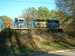 CSX 6349 sits in the ex-ACL yard