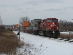 CP 8610 makes its way east with X500-21