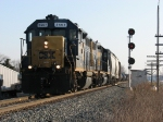 CSX 2567 & 2515 return to the mainline with D700-14