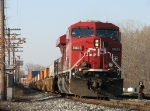 CP 8825 rolls down the main with X500-13
