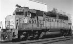 Former WP GP-40 at Blackfoot