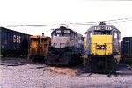 CSX 6452 and ex RF&P 6857