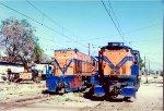 Two diesels