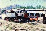 Stored steam loco