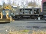 Luzerne Susquehanna 30 being worked on