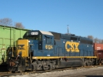 CSX 6124 On CSX Y-101-01 New River Job