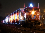 CP 2009 Holiday Train at Hamilton
