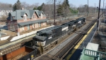 Newark Train Station and NS Freight