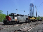 NYSW power at Dewitt yard