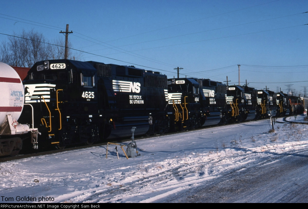NS 4625, 4614, 4611, 4610, and 4625