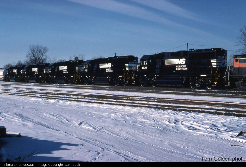NS 4627, 4611, 4610, 4614, and 4625--All New GP59s