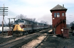 Erie Lackawanna E-Units Past HY Tower