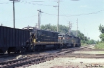 SBD 1735, 8129, and 2025 on a Northbound Coal Drag