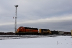 BNSF 7954 working the local in BNSF's Murry yard.