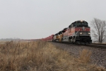 UP 1996 leads train 2KG2LB-19 as it heads west thru Kansas.
