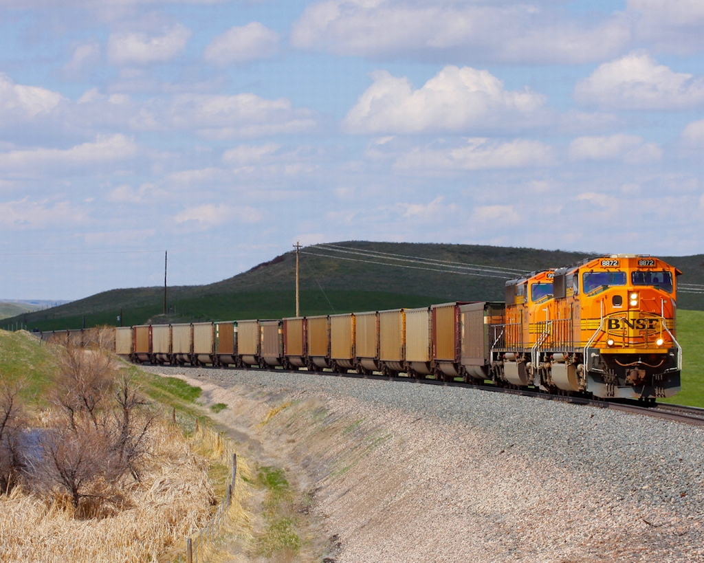 Empty Coal between Billings and Sheridan