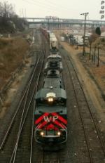 Eastbound UP Intermodal Train