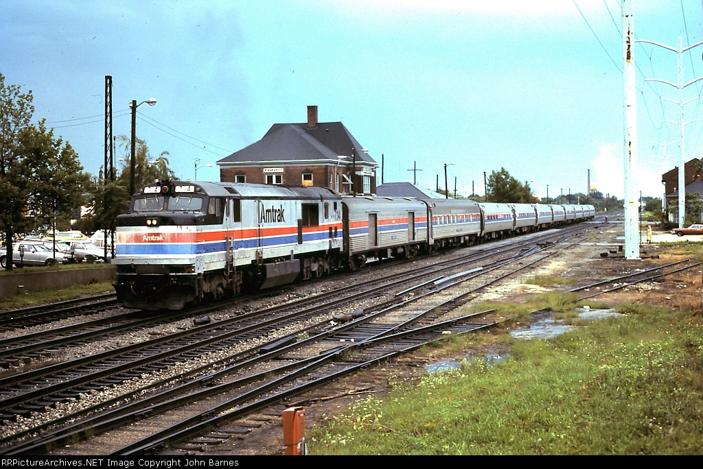 Amtrak #58 Panama Limited with P30CH 714