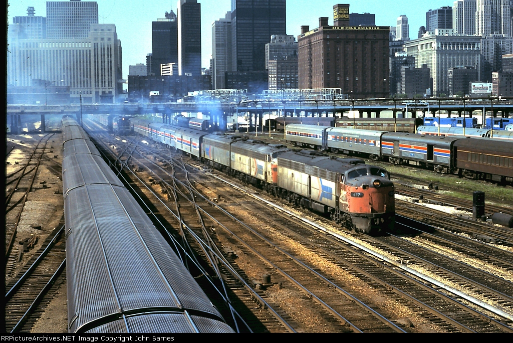 "Amtrak Panama Limited ""E-Units 447,403,430"