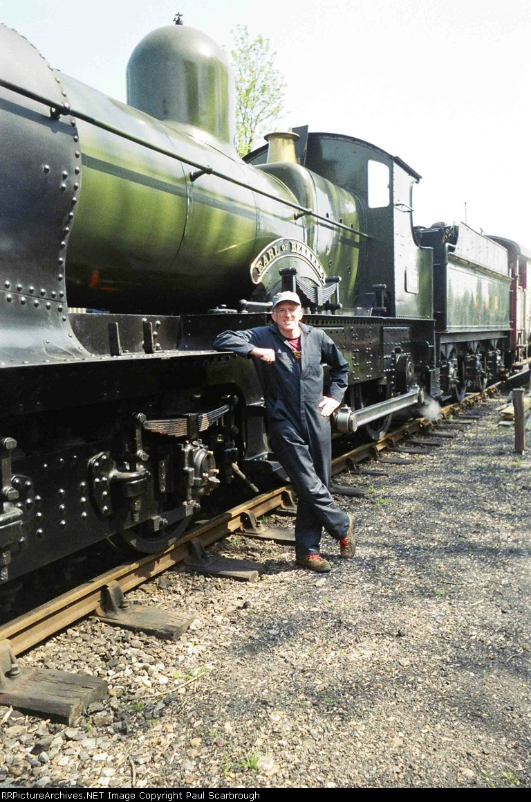 Author with 4-4-0 Earl of Berkeley
