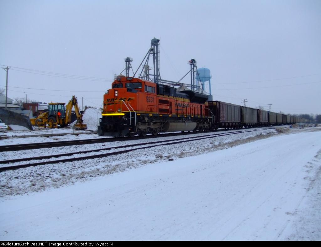 BNSF 9231