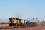 UP 3931 leads a Windmill train.