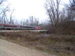 2009 Santa train eastbound