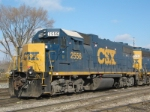 CSXT 2556 At New River Yard