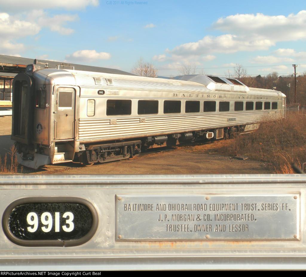 B&O 9913 farewell photo