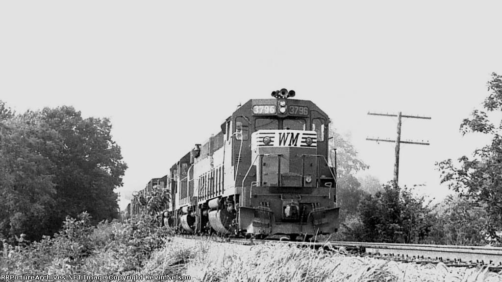 WM 3796 GP40