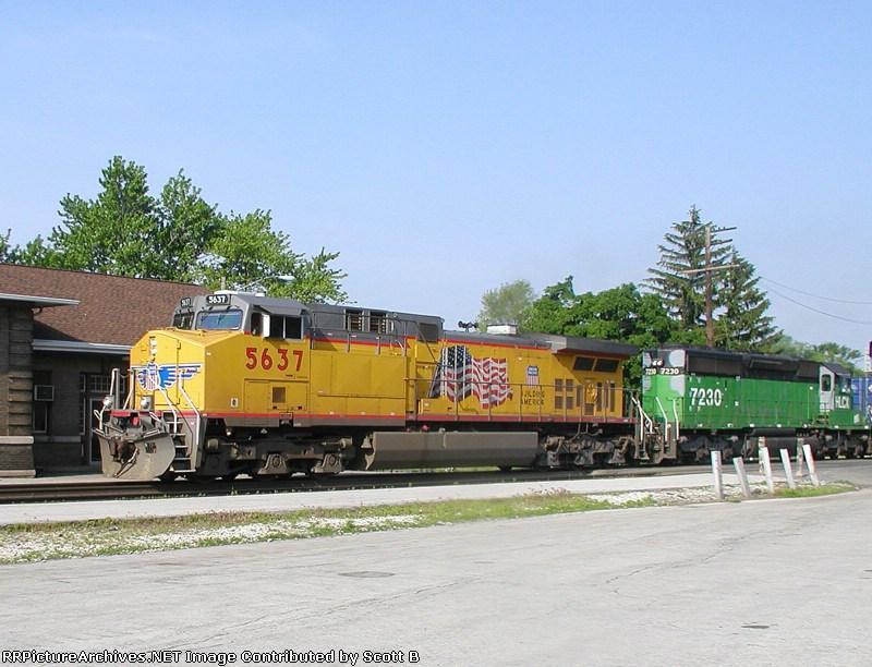 UP 5637 Q164