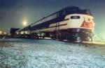 796 at Night at the Historic Rail Park