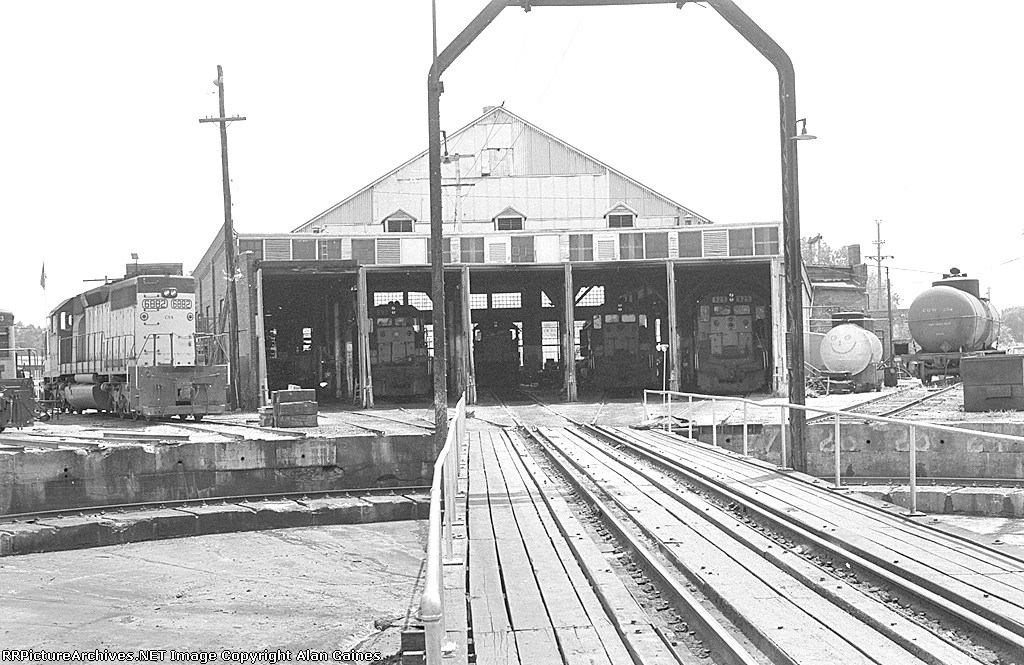 C&NW Roundhouse