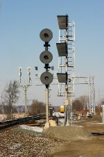NS Eastbound signal